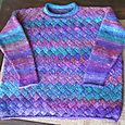 Noro Silk Garden Entrelac Sweater