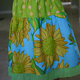 Sunflowers Twirl Skirt