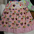 Girls Cupcake Twirl Skirt