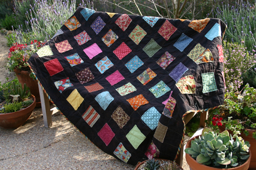 Not So Fancy Nancy: Appliqued Charm Squares Quilt - Fast, Easy ... : fast easy quilts - Adamdwight.com