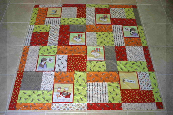 Funky_monkey_quilt_top