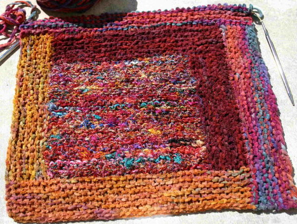 Log_cabin_knitted_square