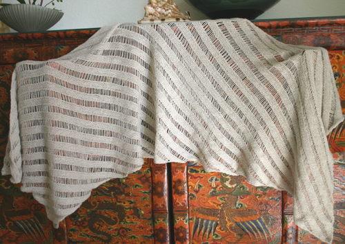 Clapotis II in Elsebeth Lavold's Silky Wool