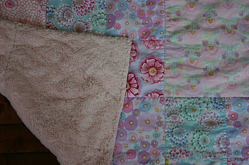 Cuddle Quilt with fluffy back