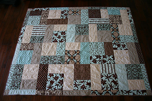Eggahells & Chocolate Joel Dewberry Quilt 1
