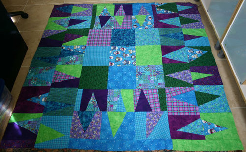 Christmas 02 Quilt Top