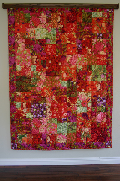 The Wench Quilts Farmers Market Quilt