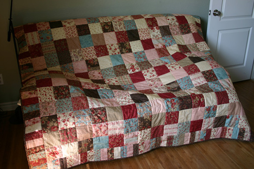 Moda Wuthering Heights Charm Block Quilt