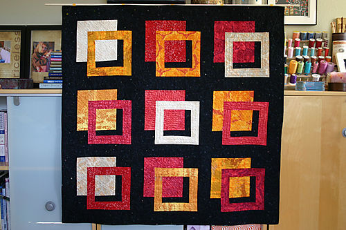 Outside the Box Wall Quilt