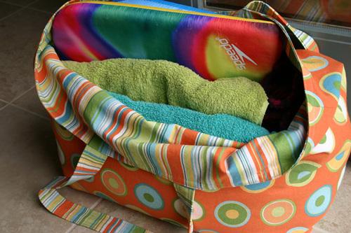 Beach Bag Interior