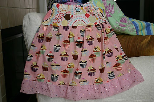 Girls Cupcake Twirl Skirt