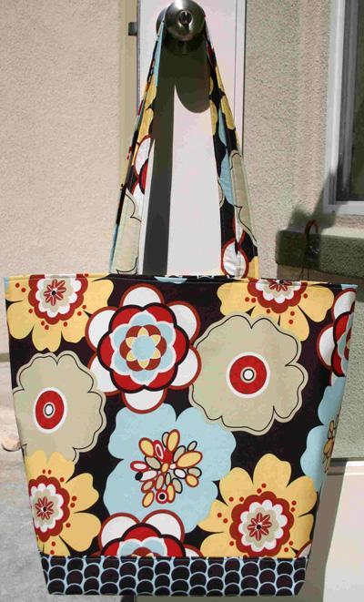 Mod Flower Bag